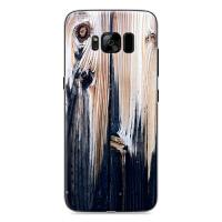 三星s8+手机壳三星Galaxy s8+保护套SM-G9550复古彩绘外壳仿木纹