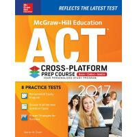 McGraw-Hill Education ACT 2017 Cross-Platform Prep Course 麦