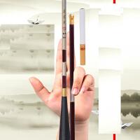 钓鱼竿木木九长节手竿鲫鱼竿3.6 4.5.4米台钓竿手杆
