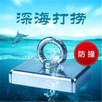 强力磁铁吸铁石 不锈钢外层防撞深海打捞强磁