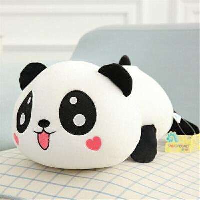 趴趴熊熊猫公仔纳米泡沫粒子毛绒玩具抱枕靠垫生日礼物送女生 发货周期:一般在付款后2-90天左右发货,具体发货时间请以与客服协商的时间为准