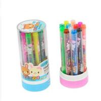 12色 旋转油画棒 爱好68021 儿童美术绘画涂鸦工具 外 壳 颜 色 随 机