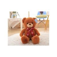 泰迪熊抱抱熊毛绒玩具大熊熊抱枕布偶娃娃可爱绒绒公仔生日礼物女 抖音 绒绒熊棕色 60cm