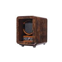实木自动机械手表盒上链机小体积摇表器自动上链盒上弦器 花樟纹