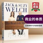 商业的本质 英文原版 The Real Life MBA CEO 杰克韦尔奇 英文版进口英语管理书籍 正版现货 Har