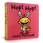 【发顺丰】英文原版绘本 Hop! Hop! 名家Leslie Patricelli 小毛孩 0-3岁幼儿启蒙认知情绪管