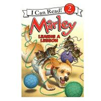 英文原版 Marley: Marley Learns a Lesson 小狗马利得到了教训