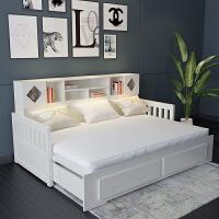 实木沙发床推拉床小户型客厅坐卧两用伸缩折叠床单人1.2双人1.5米 2米以上