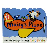英文原版 Maisy's Plane 小鼠波波梅西的飞机
