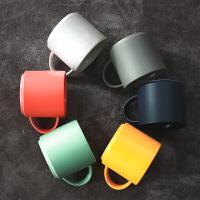 ins简约杯子大容量水杯陶瓷 北欧马克杯宜家创意 咖啡杯家用欧式