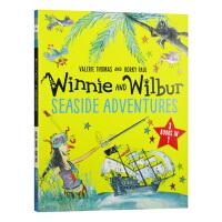 女巫温妮与黑猫威尔伯 海边奇遇 英文原版 Winnie the Witch Winnie and Wilbur Sea