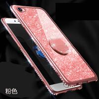 iPhone6plus苹果6splus手机壳A1699防摔A1524外套6plus闪粉镶钻Phone