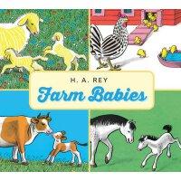 英文原版Farm Babies 农场宝宝英文版 儿童启蒙绘本 少儿英语故事书 3-6岁宝宝读物 进口图书 好奇猴乔治作者