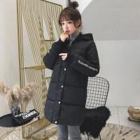冬季加厚棉衣女中长款韩版原宿风新款bf面包服棉袄学生外套