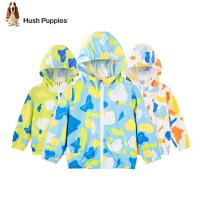 【3件3折价:99元】暇步士童装儿童皮肤衣春装新款男童宝宝外套薄女童小童防晒衣