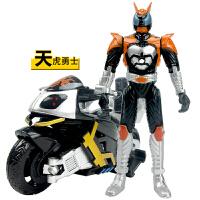 铠甲儿童勇士玩具男孩变形机器人超能假面骑士摩托车金刚模型套装