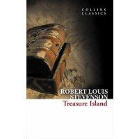 现货英文原版 Treasure Island 柯林斯经典文学:金银岛 Robert Louis Stevenson 青少