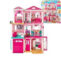 娃娃套装大礼盒儿童玩具梦幻衣橱换装美发公主别墅城堡 女孩礼物