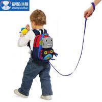 幼儿园书包男童1-3-6岁可爱机器人双肩包宝宝书包儿童防走失背包