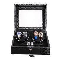 摇表器机械手表自动上链器上弦器晃表器表盒转动器摇摆器 4+6碳纤维