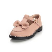 女童皮鞋韩版学生鞋2018新款春秋儿童单鞋女孩黑色皮鞋中大童