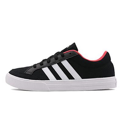阿迪达斯Adidas BB9651网球鞋女鞋 低帮网面帆布运动鞋休闲板鞋 防滑 耐磨 透气