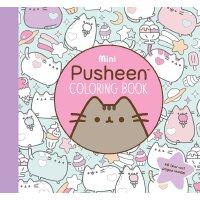 Mini Pusheen Coloring Book 英文原版 胖吉猫填色书 喵呜,来摸