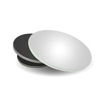 汽车后视镜小圆镜盲点镜360度无边框可调高清反光盲区辅助倒车镜