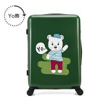 儿童拉杆箱18寸20寸卡通小行李箱学生小清新万向轮女旅行箱包男SN0913