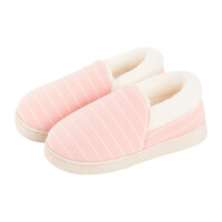 产后月子鞋女冬季室内防滑厚底包跟棉拖鞋秋天孕妇保暖毛毛绒拖鞋yly