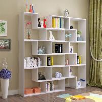 新品秒杀简约组合书柜创意转角书架卧室落地简易置物架隔断展示柜格子柜