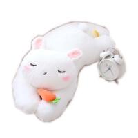 胡萝卜兔子毛绒玩具小白兔公仔布娃娃兔兔玩偶儿童抱枕女生礼物萌