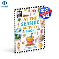 英文原版 DK系列 At the Seaside Activity Book 在海滩 活动贴纸书 低幼儿童英语启蒙科普百