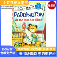 英文原版 Paddington at the Barber Shop [4-8岁]