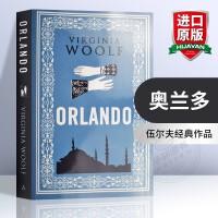 奥兰多 英文原版小说 Orlando 经典文学小说 一间自己的房间 达洛维夫人 到灯塔去作者 弗吉尼亚伍尔夫 英文版进口