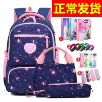 书包女孩小学生4-6年级3-5女童韩版休闲初中女生双肩包大容量背包