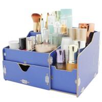 抽屉式化妆盒木盒  大号组合整理箱 化妆品收纳盒