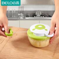 百露厨房搅菜捣压蒜泥器切菜器家用手拉绞肉绞菜机绞蒜碎大蒜工具