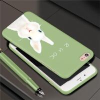 科际 苹果6手机壳6Plus套iPhone6磨砂6s超薄六新款全包防摔i6P女款男款潮男潮女硬壳少女