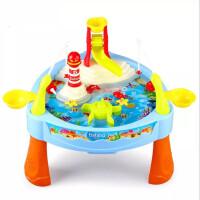 新款仿真钓鱼台过家家玩具套装儿童男孩过家家玩具