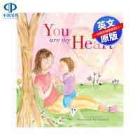 英文原版 你是我的心 You Are My Heart 精装 儿童插图版绘本