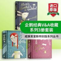 企鹅经典V&A收藏系列3册套装英文原版 Anne of Green Gables Little Women 绿山墙的安
