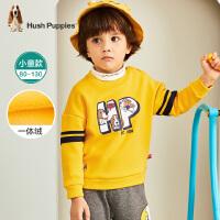 【秒�⑷�后�r:119元】暇步士童�b男童中大童冬季新款�l衣印花卡通�l衣