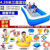 ?超大号儿童游泳池家用宝宝洗澡加厚婴儿小孩大型家庭充气水池