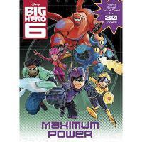 Maximum Power! (Disney Big Hero 6)进口英文原版 超能陆战队:极限能量!