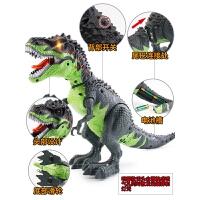 儿童男女孩行走遥控霸王龙模型套装电动恐龙玩具仿真动物模型