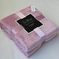 毛毯珊瑚绒毯子冬季加厚保暖法兰绒床单双人毛巾被沙发午睡空调毯
