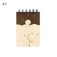 感受你的心 口袋上翻线圈本 迷你创意随身笔记本 记事本子A7