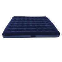 征伐 充气床垫 蓝色植绒双人充气床垫充气床
