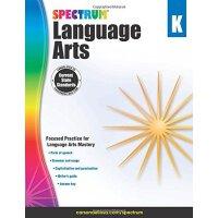 【现货】英文原版 光谱语言艺术(语文)幼儿园 Spectrum Language Arts, Grade K